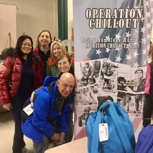 OPERATION CHILLOUT team at 2017 Warren County Point In Time Survey - Homeless Connect in Phillipsburg.