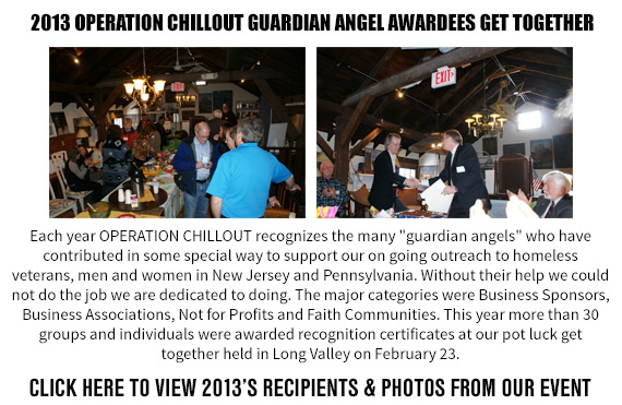 2013 OPERATION CHILLOUT Guardian Angel Awardees Get Together