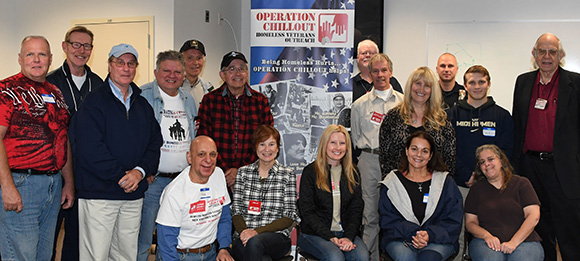 New outreach volunteer orientation workshop graduates at Long Valley Police Squad Room, Saturday, October 1.