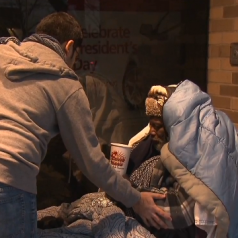Medical student saves homeless man during blizzard
