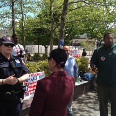 Jersey City cops break up candidate's 'haircuts for the homeless' event