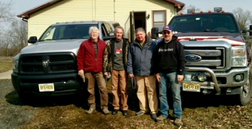 We picked up two truck loads of new clothing for homeless vets yesterday collected by the Central and South Jersey Elks 'Jim Hall memorial fund'. Everything was immediately delivered to agencies supporting homeless vets - SSVF Supportive Services for Veteran Families and Veterans Haven - South.