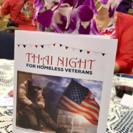 """Thai Night for homeless veterans"""" gala cultural extravaganza and gourmet dinner benefit for OPERATION CHILLOUT at Vasa Park, September 16."""